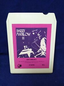 Vintage 1974 B Ell Records Barry Manilow 2 8 track Cassette