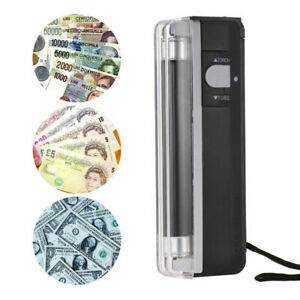 2-in-1 Counterfeit Bank Note Detector UV Money Checker Blacklight & LED Torch