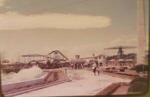 Vtg 1960s Yokohama Dreamland Amusement Park, Japan - Lot of 28 -- 35mm Slides