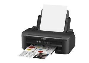 Epson Arbeitskräfte WF-2010W (A4) Colour Inkjet Kabelloser Drucker ...