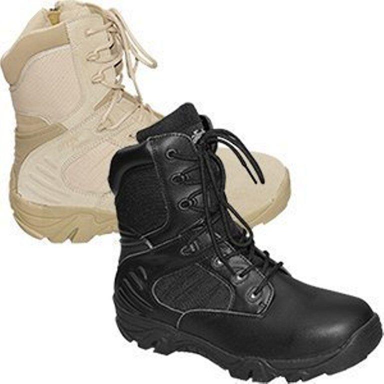 Army Größe Stiefel HerrenZapatos Negro beige Größe Army 38-47 ArbeitsZapatos Reißverschluss 33ce62
