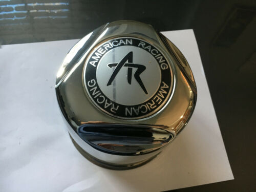 AMERICAN RACING Mag Wheel Push-Thru Center Cap 1515001S Stainless Steel
