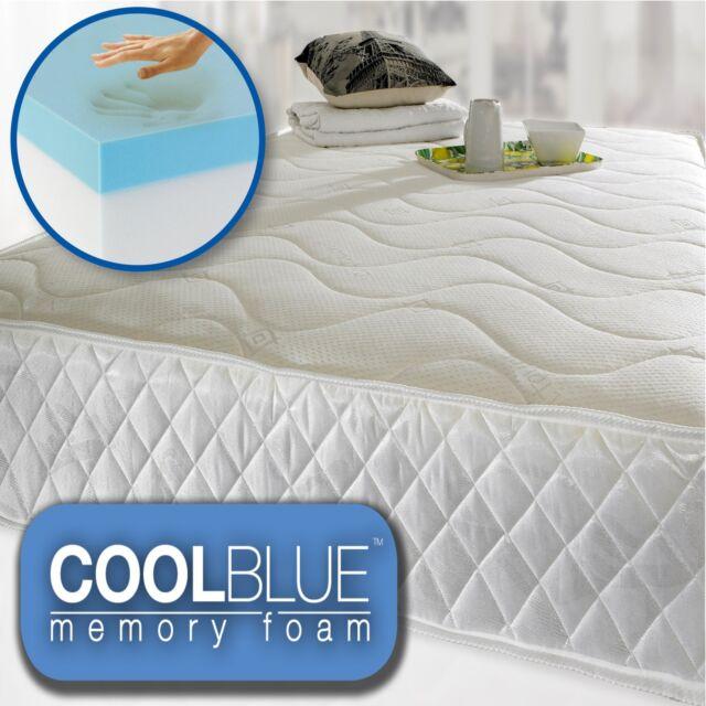 Memory Foam Matress Pocket Sprung New 3ft Single 4ft6 Double 5ft King Mattress