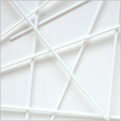 #1203-O 5//6mm - per Meter steif NEU- REICHENBACH 104°: Weiß