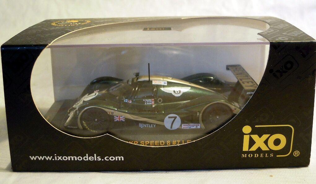 Ixo-modello lmm029  Bentley Speed 8, Le Mans 2001,  7, NUOVO & OVP