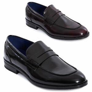Mocassini-uomo-oxford-polacchine-scarpe-uomo-eleganti-college-TOOCOOL-Y79