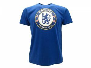 T-shirt-Chelsea-ufficiale-originale-BLU-maglia-maglietta-novita-2019-2020-Blues