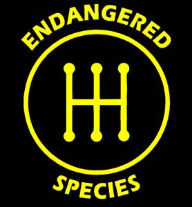 Endangered-Species-Manual-Transmission-Vinyl-Decal-Sticker-Funny-Car-Truck