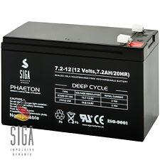 Akku 7,2AH 12V AGM Blei Gel Batterie USV UPS Systeme MODELLBAU 7Ah 12-Volt