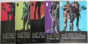 The OLD GUARD: FORCE MULTIPLIED (5) comic Set #1 2 3 4 5 iMAGE 1st print Rucka