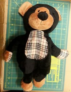 Cute-Plush-Stuffed-Bear-Kids-Backpack-with-zipper-pouch-amp-two-straps-awesome