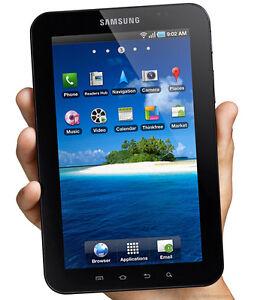 SAMSUNG GALAXY TAB Gt-P1000 16gb Wi-Fi + 3g Unlocked 7in Sim Card ... 2051d56442