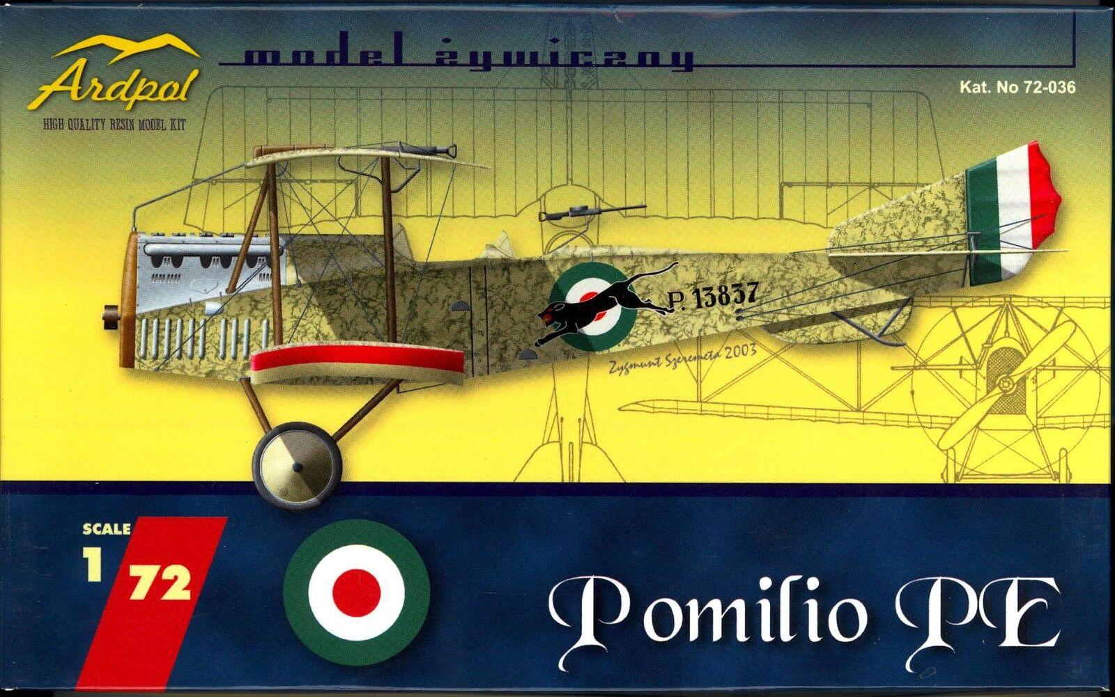 Ardpol Models 1 72 POMILIO PE Italian WWI Scout Bomber