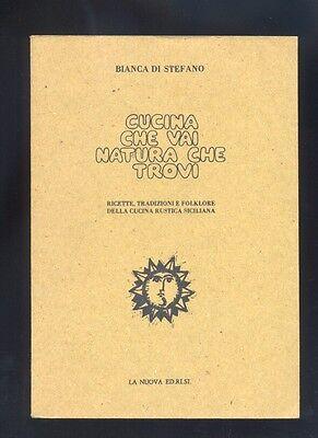 Bianca Di Stefano,Cucina che vai natura che trovi,ricette cucina siciliana  R | eBay