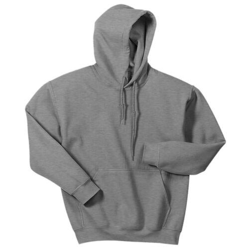 Hooded Sweatshirt Men/'s Adult Blank Hoodie Heavy Blend 8 oz Sport Grey
