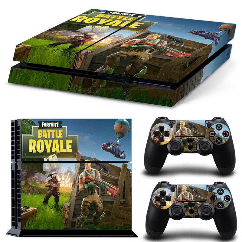 Playstation 4 PS4 Skin Sticker Decal Console+Controllers Vinyl- 6944 PS4 Only