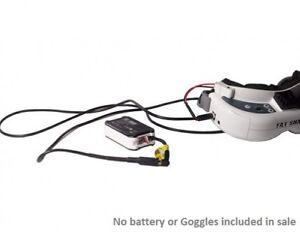 Fatshark-FPV-Brille-Batterie-Weiches-Silikon-Verlaengerungskabel-xt60-2-1mm-OrangeRX-UK