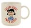Hallmark-Peanuts-Lucy-Coffee-First-Smile-Later-Coffee-Mug-New 縮圖 1