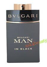 Bvlgari Man In Black By Bvlgari 3.4oz/100ml Edp Tstr Spray For Men New & Unbox