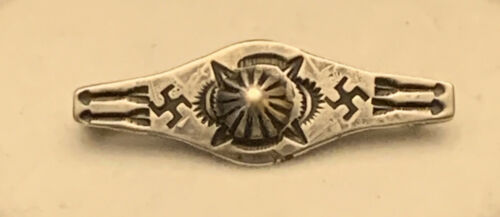 Old Pawn NAVAJO Handmade 1930's or 40's Stamp Work