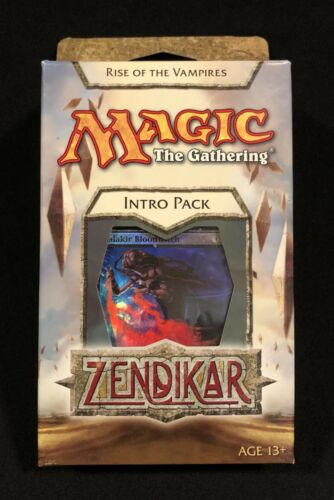 MTG Zendikar Intro Pack Rise of the Vampires English Sealed!