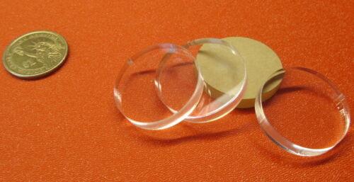 "Diameter Acrylic Circle Disc Clear 25 Pcs Thick x 1.25/"" 1//4/"" 1 1//4/"" .220/"""
