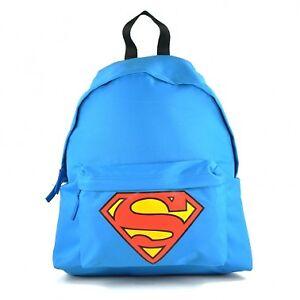 Aus Jungen Zurück Rucksack Superman Dc Zu Mann Schultasche Logo Comics Stahl Awq6zqx1Z