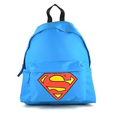 Zu Jungen Zurück Schultasche Superman Rucksack Mann Comics Dc Logo Stahl Aus xwxXg
