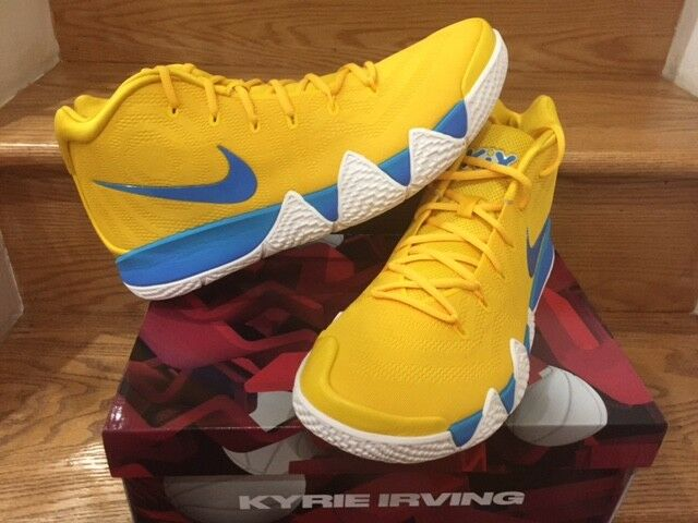 Nike Kyrie 4 Cereal Pack  Kix  Gelb BV0425-700 Men GS Sz 4Y-14 New