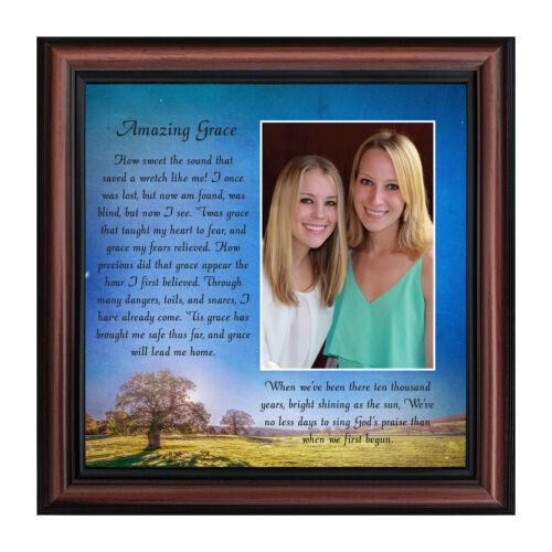 Gifts Religious **NEW** Amazing Grace in Memory of Loved One