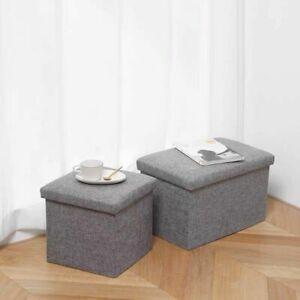 Storage-Stool-Chair-Box-Coffee-Table-Sofa-Footstool-Home-Decor-Bedroom-Seat-Pouf
