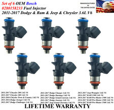 NEW OEM Bosch 2011-2017 Dodge Charger Challenger 3.6L Fuel Injector
