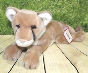 Douglas Kelso Mountain Lion 20 Plush Stuffed Animal Wild Cat Cougar