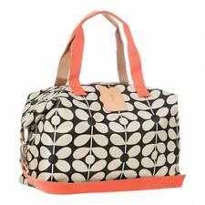 e17ccd1671 item 5 Orla Kiely Charcoal Sixties Stem Nylon Large Zip Luggage Holdall  -Orla Kiely Charcoal Sixties Stem Nylon Large Zip Luggage Holdall