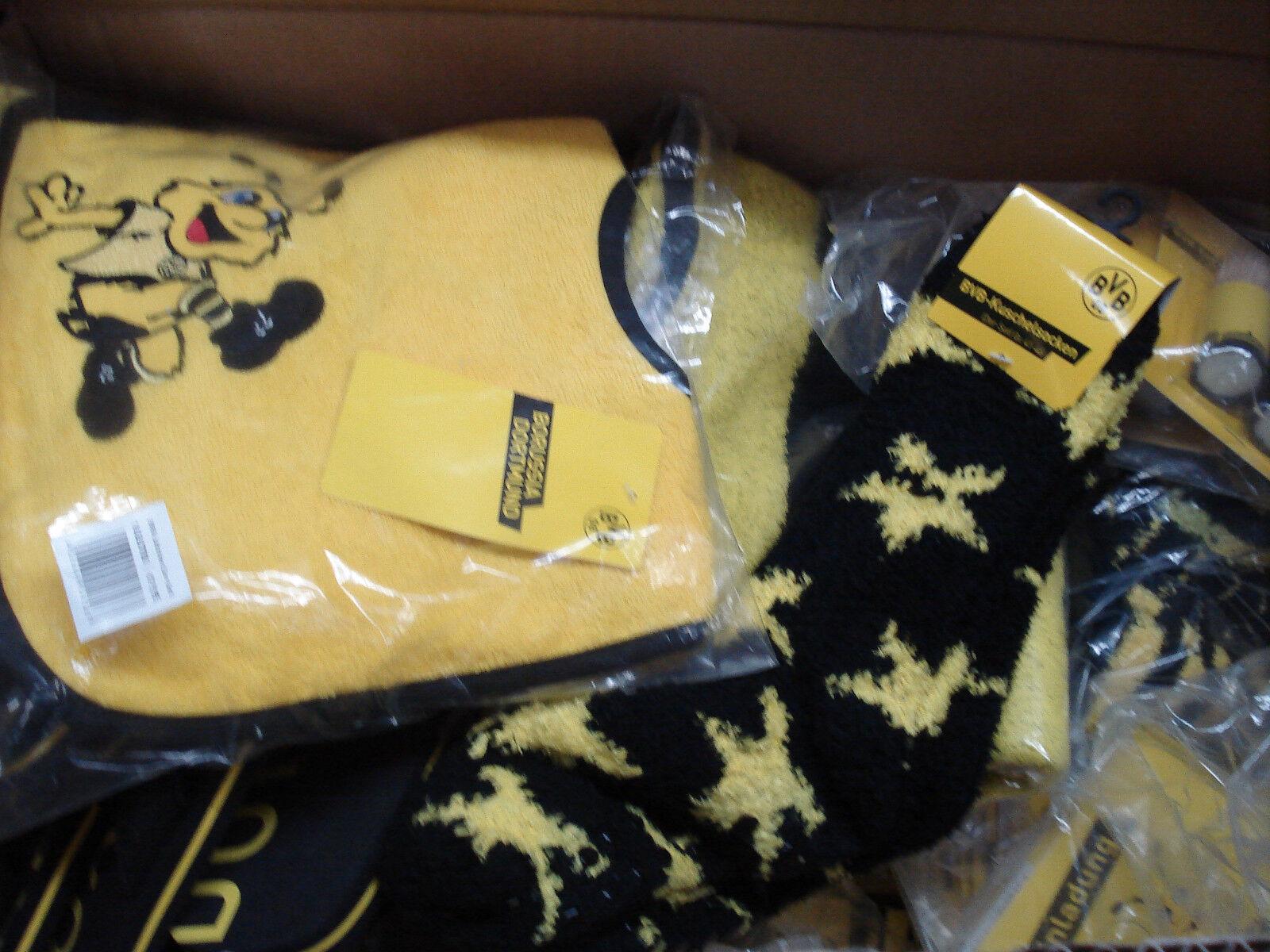 Sensationspaket 10-teilig Borussia Dortmund ( Cap Shirt Aufkleber) Fussball  | Hohe Qualität