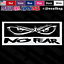 No Fear Logo Awesome Mean Eyes JDM Car Truck Window Laptop Vinyl Decal Sticker.