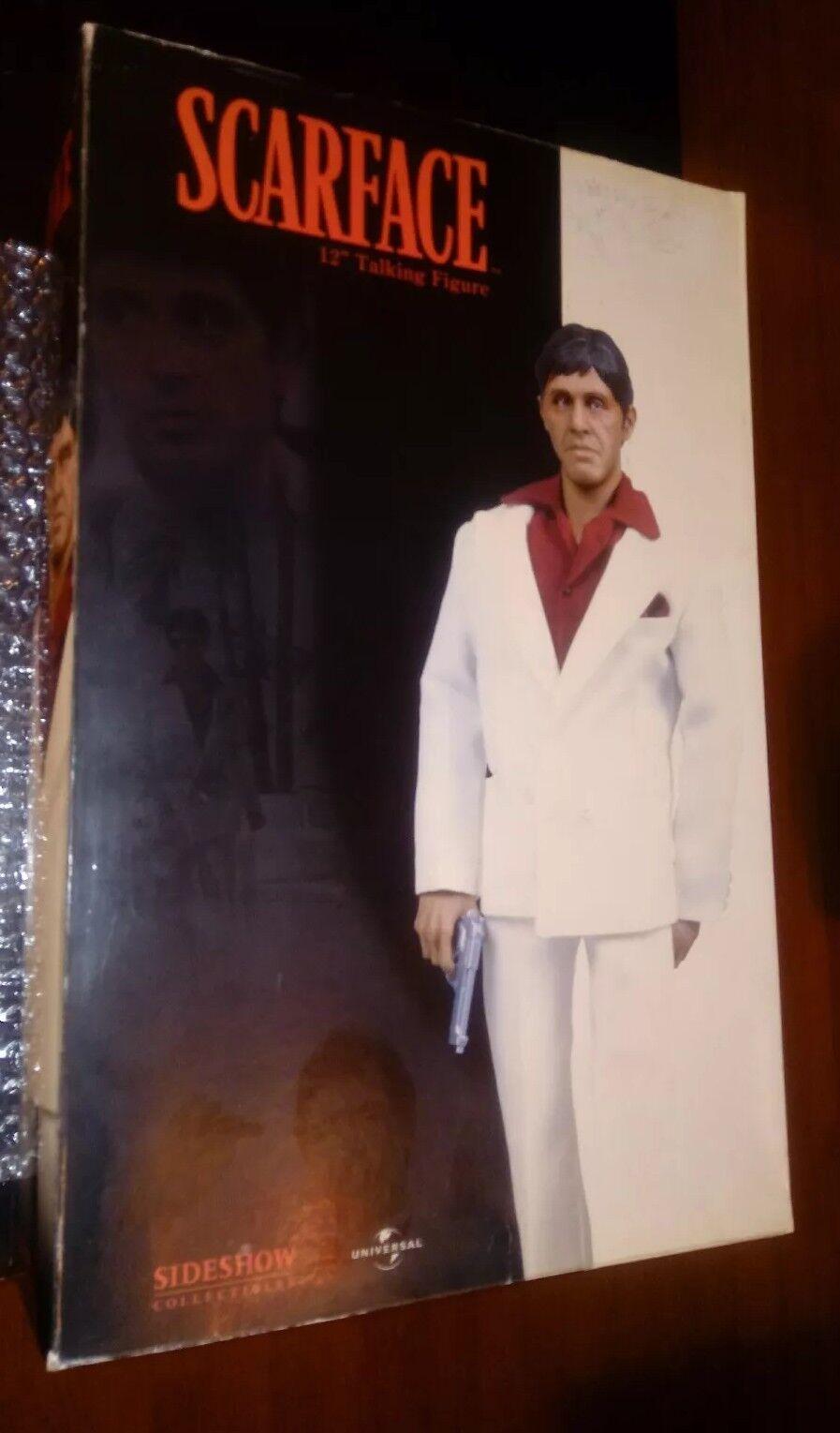 nuevo   Scarface Tony Montana 12 hablando figura Slideshow Collectibles   Rara