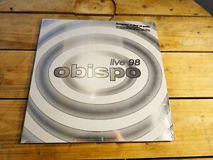 Obispo-Live-98-LD-Laserdisc-EX-cover-EX-PAL-Original-1998
