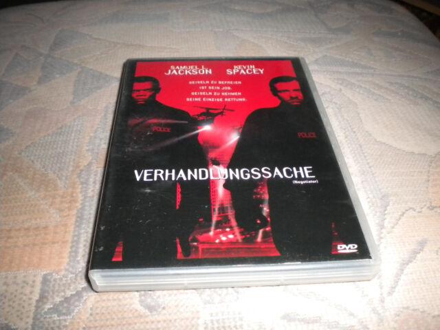 Verhandlungssache Samuel L.Jackson Kevin Spacey DVD Neuwertig TOP