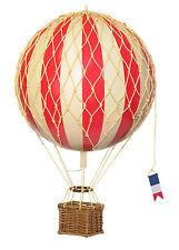 Ballon am Himmel schwebend 8cm Rot Modell Authentic Models