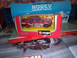 BURAGO-1-43-BMW-535i-RALLY-40-NEUF-EN-BOITE