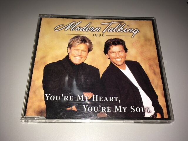 Modern Talking - You're My Heart, You're My Soul '98 Thai Promo Maxi-CD + BONUS!