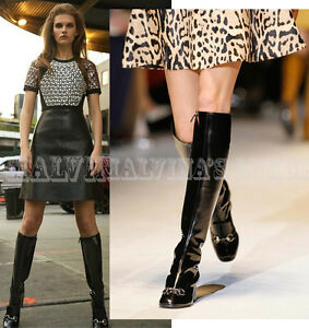 d1bb4ff0ea5762 Image is loading 1-495-GUCCI-BOOTS-LILLIAN-BLACK-LEATHER-LOAFER-