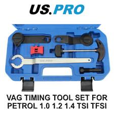 Us Pro Tools Vag Timing Locking Set For Petrol 10 12 14 Tsi Tfsi Vw Etc 7050