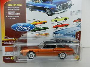 2017 Johnny Lightning Classic Gold 1a Chestnut 1974 Ford Gran