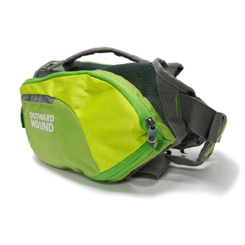 Outward Hound DAY DAY DAY PACK Dog Pack Hike Travel Walks  MEDIUM Blau or Grün e41318
