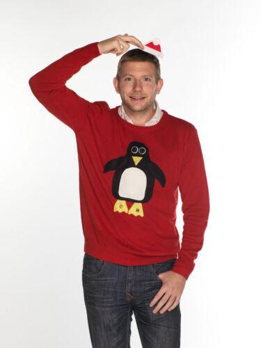 Penguin XS-XXXL Squeaky Jingly Uomo Unisex Natale Ponticelli-Rudolph Robin