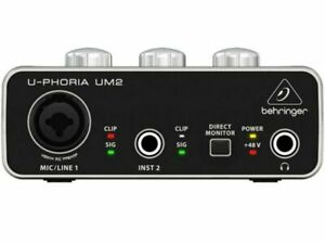 Behringer U-Phoria USB Audio Interfaccia