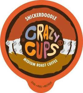 Crazy-Cups-Flavored-Coffee-for-Keurig-K-Cups-2-0-Brewer-Snickerdoodle-22ct
