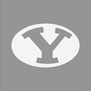 Brigham Young Cougars BYU College Logo C Vinyl Decal Sticker - College custom vinyl decals for car windows